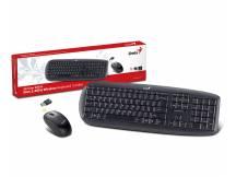 Combo teclado y mouse inalambrico genius slimstar 8000x