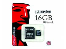 Memoria micro SDHC kingston 16GB clase 10