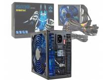 Fuente cool power gamer 1080w con LED