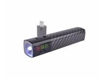 Bateria powerbank halo 3000mah con linterna