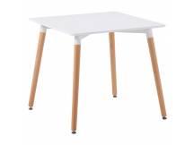 Mesa cuadrada 80x80cm blanca