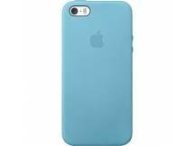 Estuche original iPhone 5S cuero azul