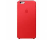 Estuche original iPhone 6S Plus cuero rojo