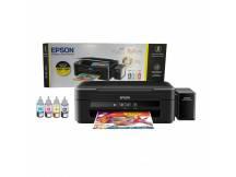 Impresora Epson Multifunción L380 con sistema continuo