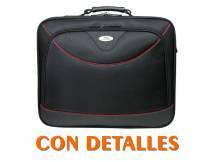Bolso bluecase para laptop hasta 15.6´´ tipo portafolios grande con detalles