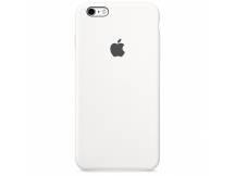 Estuche original iPhone 6S Plus silicona blanco
