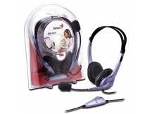 Audifonos c/microfono Genius HS-04S Single Jack 3.5 mm