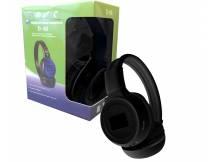 Auricular con reproductor MP3 negro