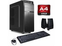 Equipo nuevo amd a4-6300, 4gb, DVDRW sin disco