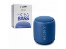 Parlantes Sony ExtraBASS bluetooth portatil azul