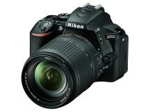 Camara Nikon D5500, 24mp, lente 18-140, Wifi, reflex profesional
