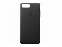 Estuche de iPhone 7/8 Plus cuero negro