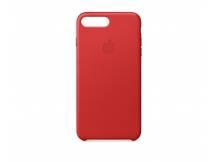 Estuche de iPhone 7/8 Plus cuero rojo