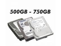 Disco duro con defectos 500GB a 750GB