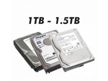 Disco duro con defectos 1TB a 1.5TB