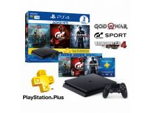 Consola Playstation 4 1TB Slim con 3 juegos