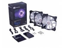 Fan Coolermaster MFP140 AF RGB 3en1 c/controlador