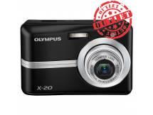 Camara Olympus X-20 10MP, Zoom 3X (con detalles)