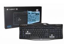 Teclado Gamer Logitech G105 iluminado