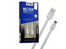 Cable Inkax MicroUSB 2.1A chato