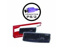 Teclado Genius negro KB-110X PS2