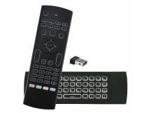Control remoto Air Mouse con teclado y backlit