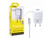 Cargador Inkax c/Cable micro USB
