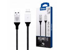 Cable Inkax MicroUSB 2.1A magnético