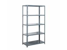 Estantería metálica de 5 estantes 120x30x200