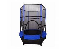Cama elastica de 4.6FT azul