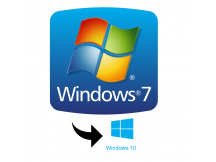 LICENCIA WINDOWS 7 idioma ingles. Actualizable a Windows 10 en español.