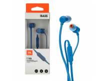 Auriculares manos libre JBL T110 azul