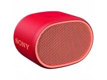 Parlante portatil Sony bluetooth rojo XB01