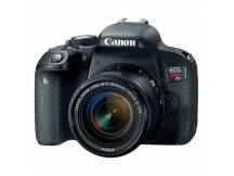 Camara Canon T7i lente 18-55mm