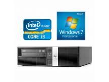 Equipo HP Core i3 3.3Ghz, 4GB, 250GB, DVD RW, Win 7 Pro