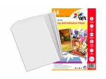 Papel Wox inkjet mate a4 - autoadhesivo 128grs. X 20 uds.