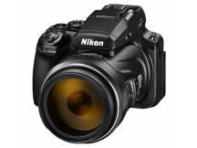 Camara Nikon P1000, 16MP, 125x Zoom, Wifi, 4K UHD