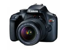 Camara Canon T100 lente 18-55mm WiFi