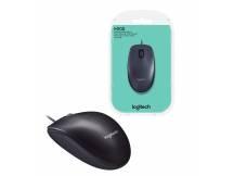 Mouse óptico Logitech M100 negro