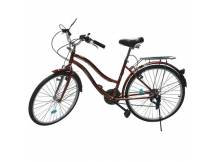 Bicicleta Vintage rodado 26 21 cam. rojo