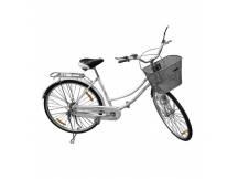 Bicicleta Vintage rodado 26 Blanco