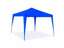 Gazebo desarmable azul para jardin o camping