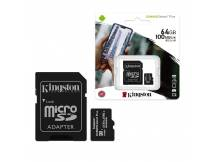 Memoria MicroSD Kingston Select Plus 64GB clase 10