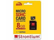 Memoria MicroSD Strontium 8GB Clase 10