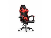 Silla Gamer Lumax ROM negro/rojo