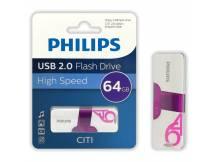 Pendrive Philips CITI 64GB USB 2.0
