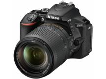 Camara Nikon D5600, 24mp, lente 18-140mm, Wifi, reflex profesional