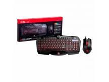 Combo teclado y mouse Thermaltake RGB
