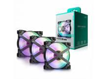 Pack de 3 Coolers Deepcool MF 120 GT
