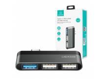 HUB USB mini USAMS Tipo C 3 USB